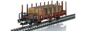 märklin 58490 Rungenwagen R10 mit Holzstämmen DB | Spur 1 kaufen