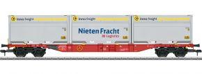märklin 58641 Container-Tragwagen Sgns 691 DB AG   Spur 1 kaufen