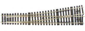 märklin 59084 Weichen-Set 10° | links | Länge 600 mm | Radius 2321 mm | H1001-1S | Spur 1 kaufen