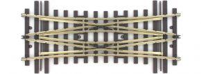 märklin 59093 Doppelte Kreuzungsweiche 15° | Mittelteil | Radius 1394 mm | H1101 | Spur 1 kaufen