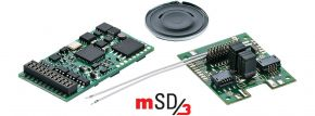 märklin 60979 mSD3 Sound-Decoder | 21-pol. | TRAXX E-Lok-Sound | fx | mfx | DCC kaufen