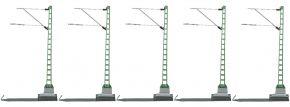 märklin 74101 Streckenmast | 1 Packung mit 5 Stück | Oberleitung Spur H0 kaufen