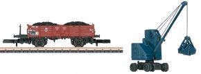 märklin 82337 Set Güterwagen O 10 Kohleverladung DB | Spur Z kaufen