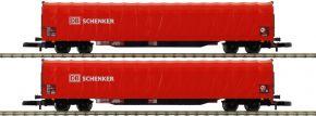 märklin 82426 Schiebeplanenwagen-Set DB | Spur Z kaufen