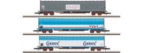 märklin 82427 Schiebeplanenwagen-Set Rils SNCF | Spur Z kaufen