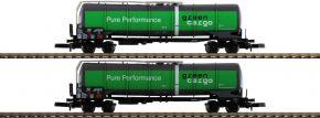 märklin 82532 Mineralöl-Kesselwagen-Set Green Cargo | Spur Z kaufen