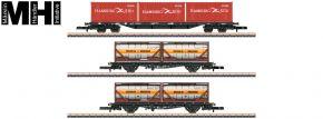märklin 82663 Containertragwagen-Set DB AG | MHI | Spur Z kaufen