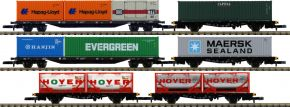 märklin 82665 Containertragwagen-Set DB AG   Spur Z kaufen