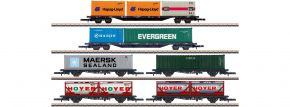 märklin 82665 Containertragwagen-Set DB AG | Spur Z kaufen