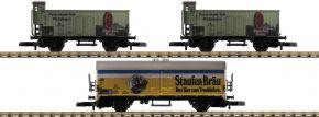 märklin 86603 Güterwagen-Set 3-tlg. Staufen-Bräu DB | Spur Z kaufen