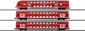 märklin 87297 Doppelstockwagen-Set Höllentalbahn DB | Spur Z kaufen