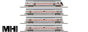 märklin 87298 Doppelstockwagen-Set IC2 DB AG   MHI   Spur Z kaufen