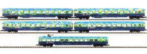 märklin 87300 Wagen-Set 5-tlg. Touristikzug DB AG | MHI | Spur Z kaufen