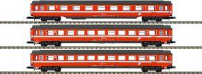 märklin 87343 Wagen-Set Eurofima 1./2.Kl. ÖBB | Spur Z kaufen