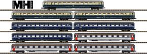 märklin 87408 Reisezugwagen-Set 9-tlg. DB | MHI | Spur Z kaufen