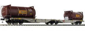 MEHANO 58954 Containerwagen Sggmrs90 Bertschi Hupac | DC | Spur H0 kaufen