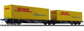 MEHANO 58955 Containerwagen Sggmrs90 DHL PKP Cargo | DC | Spur H0 kaufen