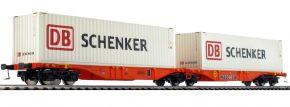 MEHANO 58957 Containerwagen Sggmrs90 DB Schenker Wascosa | DC | Spur H0 kaufen