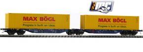 MEHANO 58958 Containertragwagen Sggmrss 90 Max Bögl ERR | DC | Spur H0 kaufen