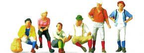 Merten N 2544 Wanderer | 6 Figuren | Miniaturfiguren Spur N kaufen