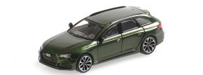 MINICHAMPS 870018210 Audi RS4 B9 Avant 2018 grünmetallic Automodell 1:87 kaufen