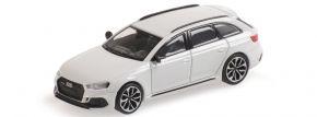 MINICHAMPS 870018214 Audi RS4 B9 Avant 2018 weissmetallic  Automodell 1:87 kaufen