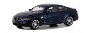 MINICHAMPS 870027201 BMW M4 Coupe F82 2015 dunkelblau-metallic Automodell Spur H0 kaufen