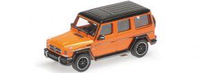 MINICHAMPS 870037000 Mercedes-Benz AMG G65 2015 orange-metallic Automodell 1:87 kaufen