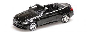 MINICHAMPS 870037030 Mercedes-Benz C63 AMG Cabrio 2019 schwarz-metallic Automodell 1:87 kaufen