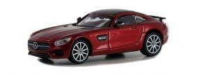 MINICHAMPS 870037121 Mercedes-AMG GTS 2015 weinrot-metallic Automodell Spur H0 kaufen