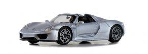 MINICHAMPS 870062130 Porsche 918 Spyder 2015 silber Automodell 1:87 kaufen