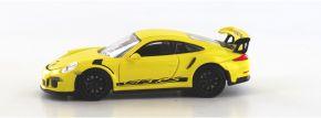 MINICHAMPS 870063225 Porsche  911 GT3 RS 2015 gelb schwarz Automodell Spur H0 kaufen