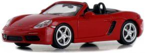 MINICHAMPS 870065130 Porsche 718 Boxster Roadster  2016 indischrot Modellauto 1:87 kaufen