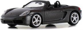 MINICHAMPS 870065131 Porsche 718 Boxster Roadster achatgrau-metallic 2016 Modellauto 1:87 kaufen
