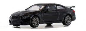 MINICHAMPS 870027106 BMW M4 GTS 2016 schwarz-metallic Automodell 1:87 kaufen