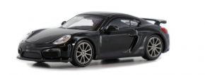 MINICHAMPS 870066121 Porsche Cayman GT4  2016 schwarz Automodell 1:87 kaufen
