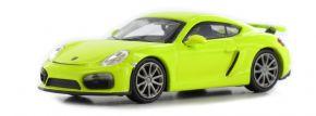 MINICHAMPS 870066122 Porsche Cayman GT4  2016  gelbgrün Automodell 1:87 kaufen