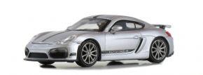 MINICHAMPS 870066124 Porsche Cayman GT4 2016 silber Automodell 1:87 kaufen