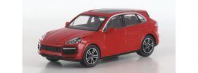 MINICHAMPS 870067202 Porsche Cayenne Turbo 2017 rot Autmodell 1:87 kaufen