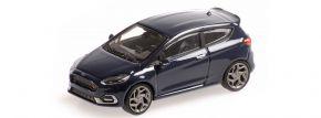 MINICHAMPS 870087100 Ford Fiesta ST 2018 dunkelblau Automodell 1:87 kaufen