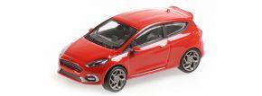 MINICHAMPS 870087104 Ford Fiesta ST 2018 rot Automodell 1:87 kaufen
