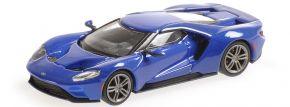 MINICHAMPS 870088024 Ford GT 2018 blaumetallic Automodell 1:87 kaufen