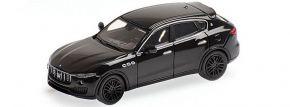 MINICHAMPS 870123204 Maserati Levante 2018 schwarz Automodell 1:87 kaufen