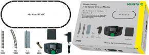 MINITRIX 11100 Digitaler Einstieg Set mit MS2 + Gleisoval   Spur N kaufen