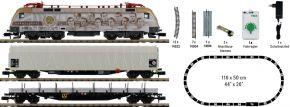 MINITRIX 11151 Startpackung E-Lok Taurus mit Güterzug | analog | Spur N kaufen