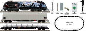 ausverkauft | MINITRIX 11152 Startpackung E-Lok Taurus mit Güterzug GYSEV | analog | Spur N kaufen