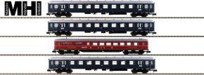 MINITRIX 15132 Personenwagen-Set 4-tlg. Merkur DB | MHI | Spur N kaufen