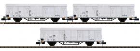 MINITRIX 15316 Güterwagen-Set 3-tlg. Ibblps DR | Spur N kaufen