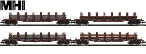 MINITRIX 15484 Güterwagen-Set 4-tlg. Stahltransport DB | MHI | Spur N kaufen
