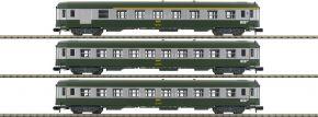 MINITRIX 15502 Schnellzugwagen-Set 3-tlg. Nizza-Paris SNCF | Spur N kaufen